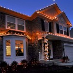 Holiday Lights on Home