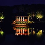 Landscaping Lighting Over Water